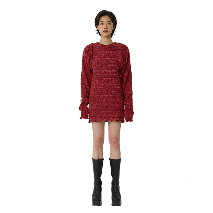 [1/28 예약배송]C BOLERO SET-UP DRESS_RED[현아 착용]