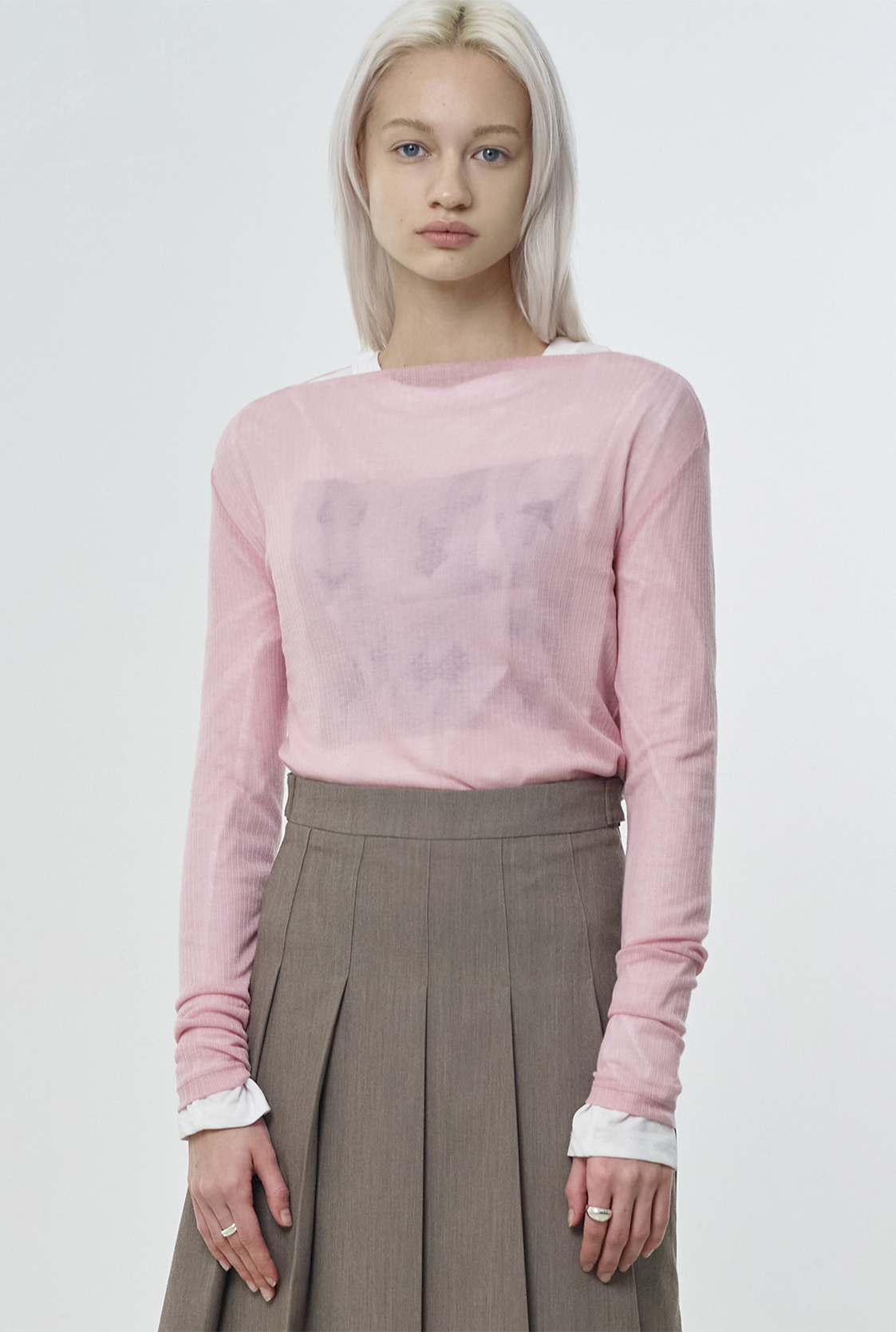R CURVE BOAT-NECK T-SHIRT_PINK